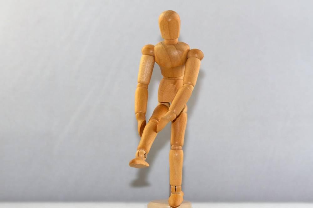 totální endoprotéza kolene